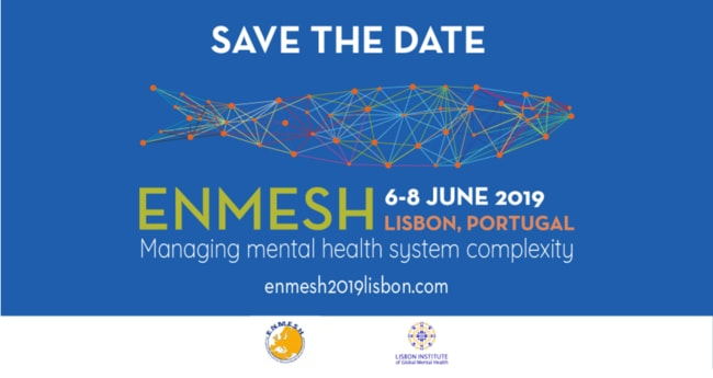 Save the Date | 6 - 8 June 2019 | ENMESH | Lisbon Institute of